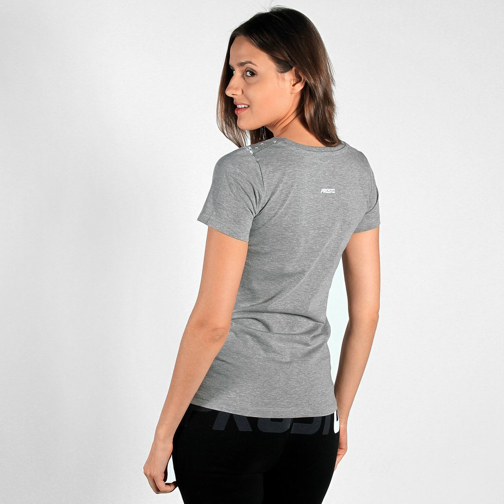 TEE SCARF MEDIUM HEATHER GREY