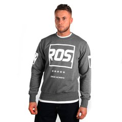 KL SWEATSHIRT WINDOWS MEDIUM HEATHER GREY