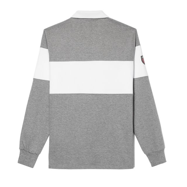 RUGBY MEDIUM HEATHER GREY