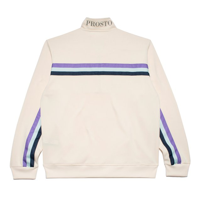 TRACK JACKET BROOKLYN CREAM