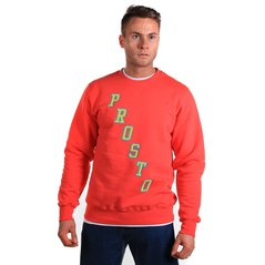ST SWEATSHIRT BL STAIRS RUBY RED