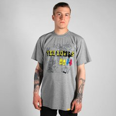 EL TSHIRT YELLOWS MEDIUM HEATHER GREY