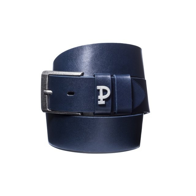 P LEATHERBELT PIN NAVY NAVY
