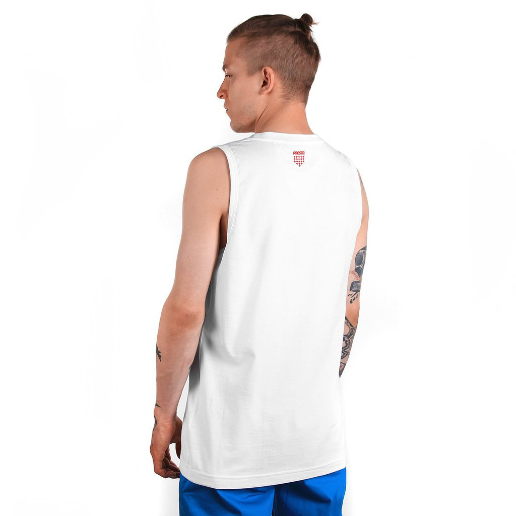 TANKTOP CAPTANK TOP WHITE