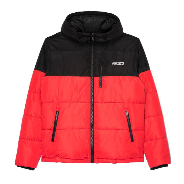 WINTER ADAMENT BLACK & RED