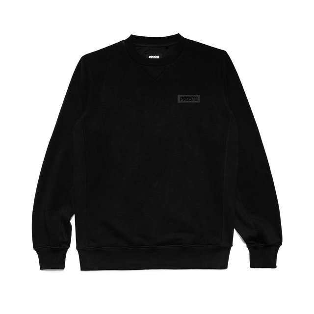 CREWNECK ESSENTIAL BLACK