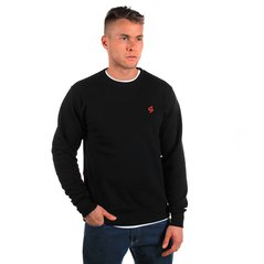 ST SWEATSHIRT BASIC BACKLIP BLACK