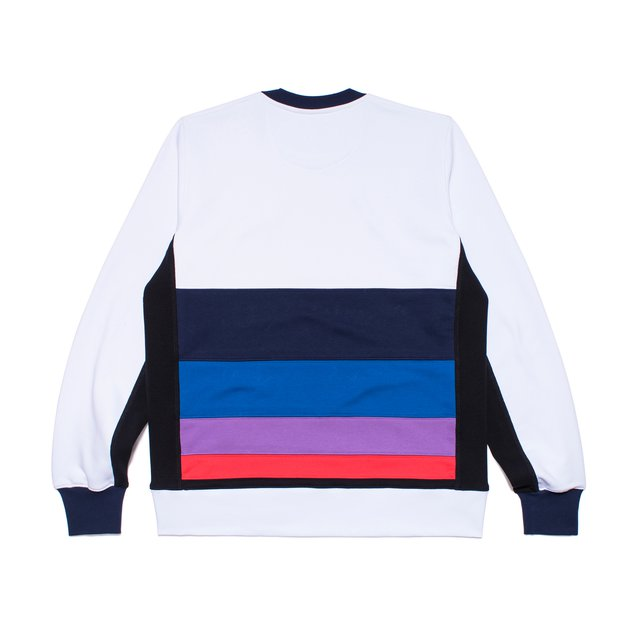 CREWNECK ROYAL SPARK WHITE