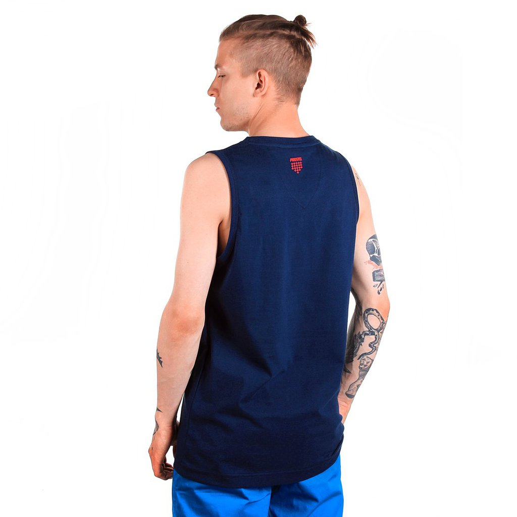 TANKTOP CAPTANK TOP NAVY