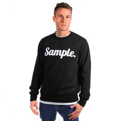 KL SWEATSHIRT SAMPLE BLACK