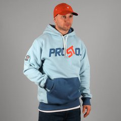 ST HOODY CONFUSION LIGHT BLUE