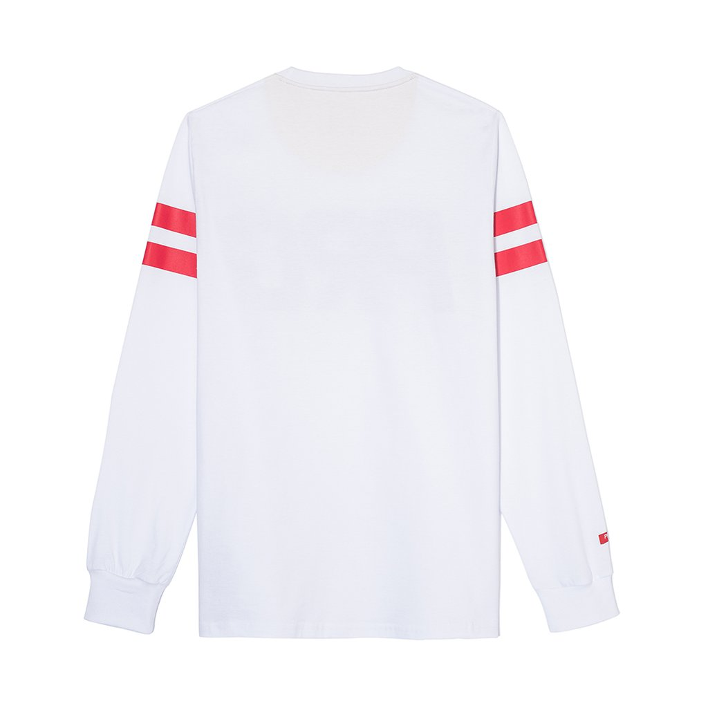 LONGSLEEVE STRIPED WHITE
