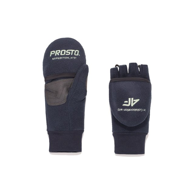 4F X PROSTO GLOVES NAVY