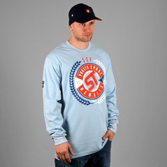 ST LONGSLEEVE GLORY LIGHT BLUE