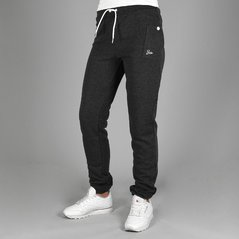 F.ST PANTS STRAIGHT DARK GREY