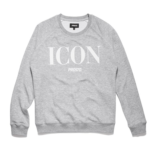 ICON CAMPBELL LIGHT HEATHER GREY