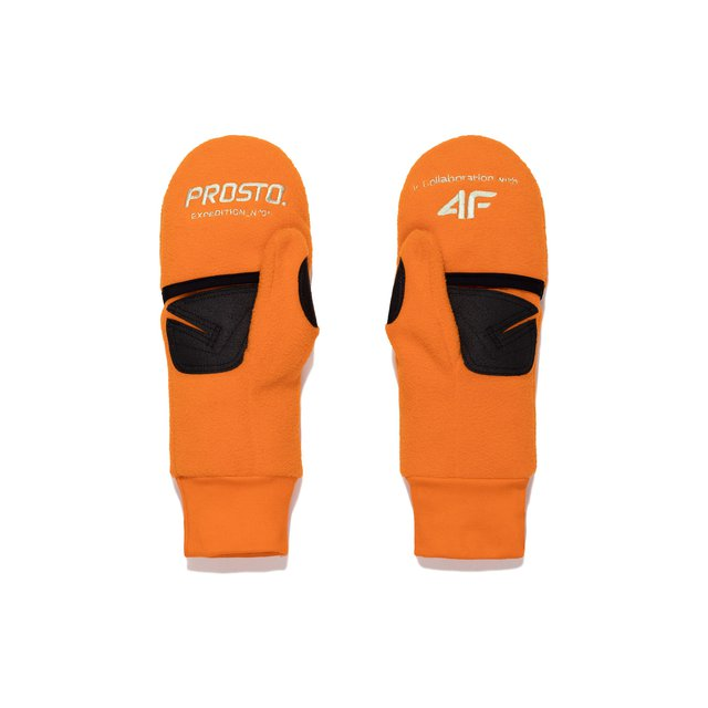 4F X PROSTO GLOVES ORANGE