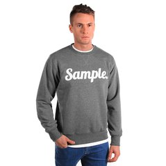 KL SWEATSHIRT SAMPLE MEDIUM HEATHER GREY