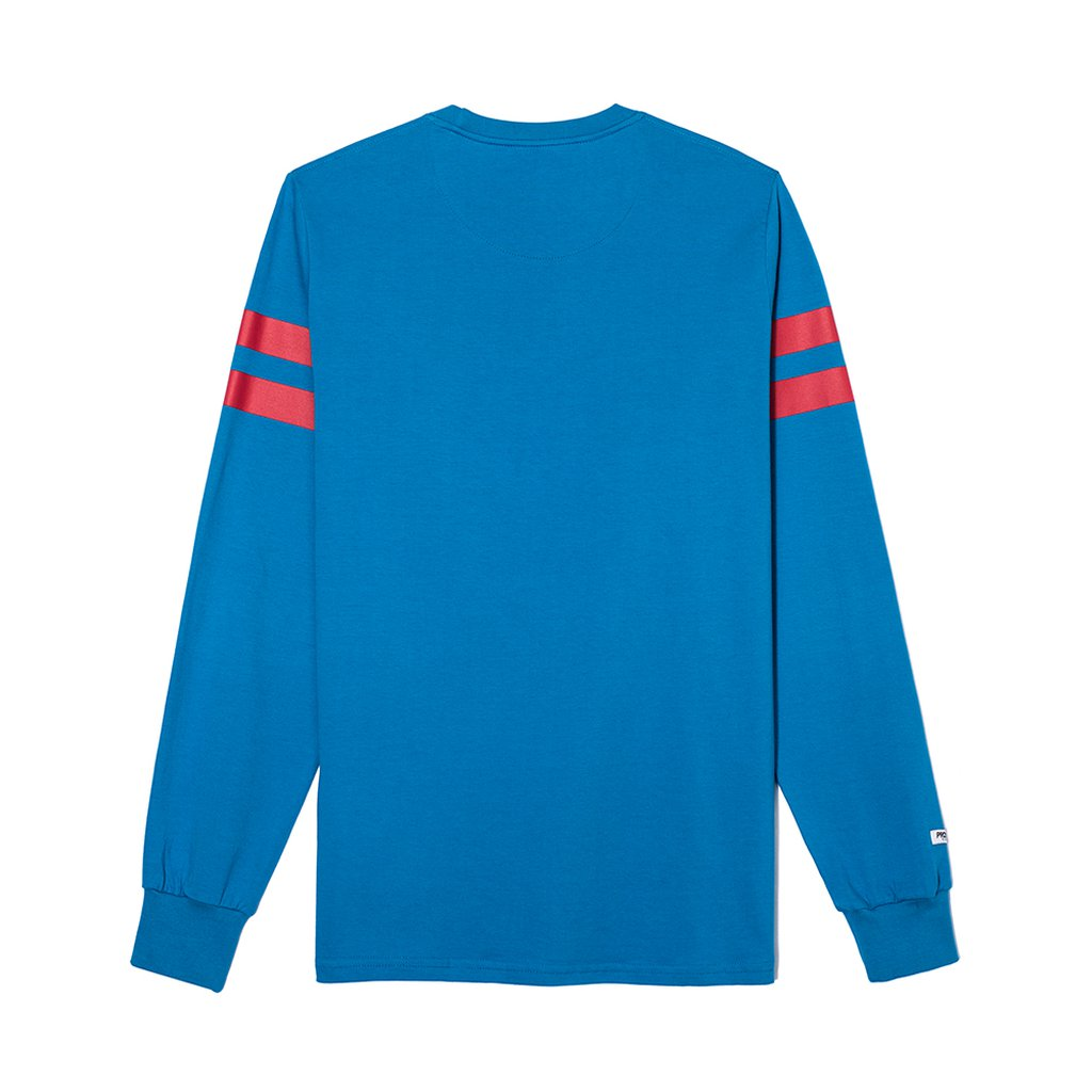 LONGSLEEVE STRIPED BLUE