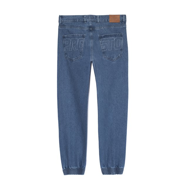 JEANS JOGGER TUNNEL BLUE