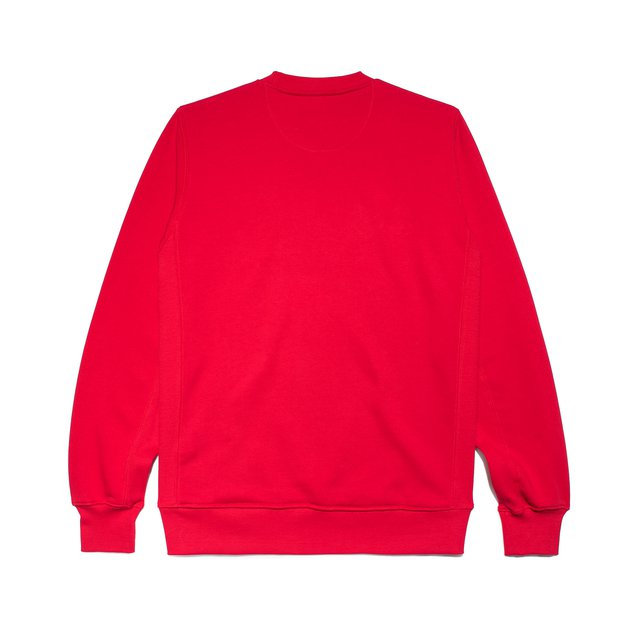 CREWNECK ESSENTIAL RED