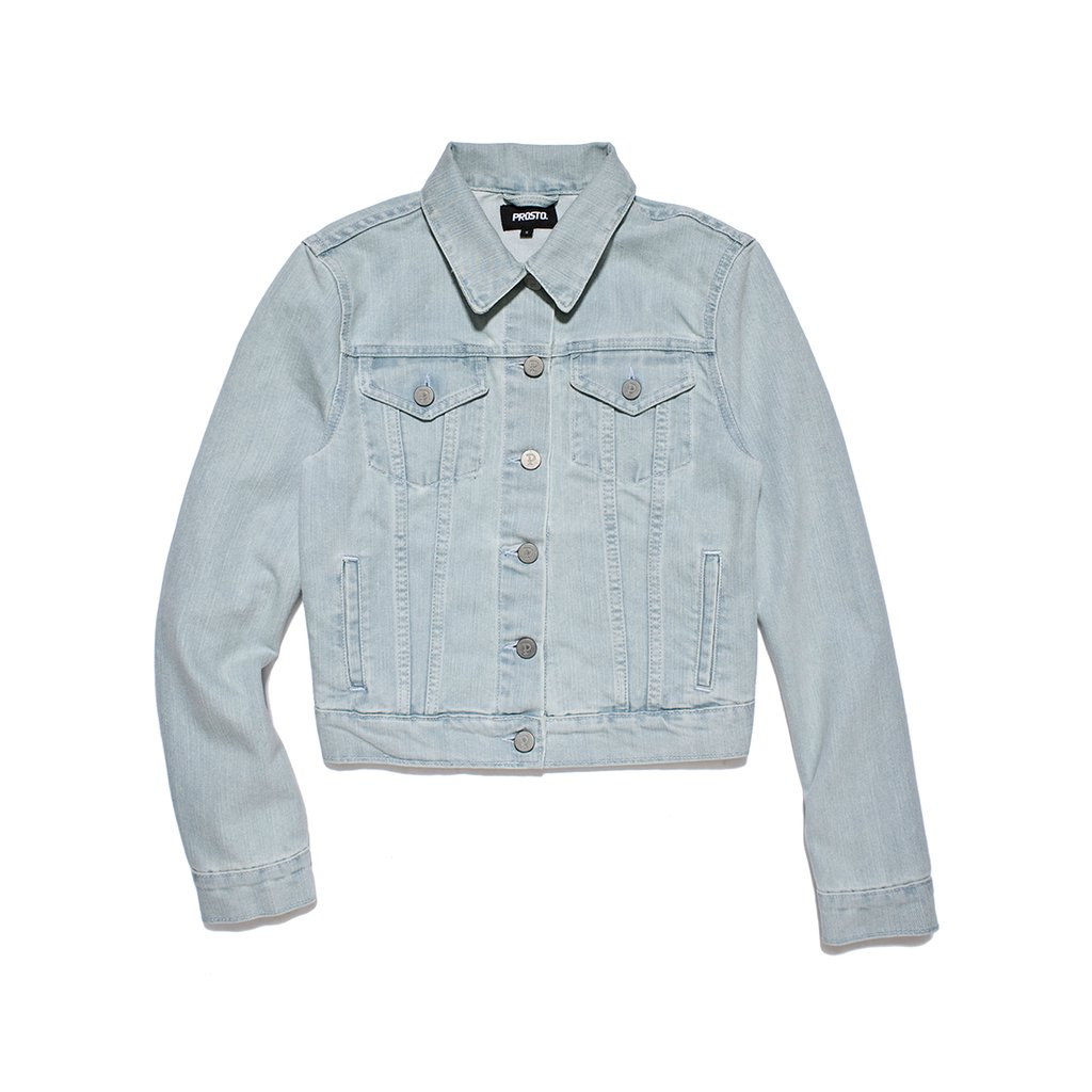 F JACKET JEANS SEA BLUE