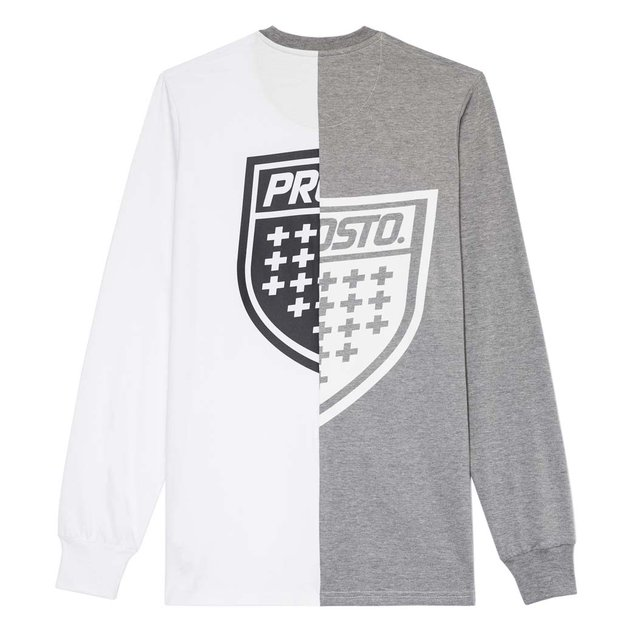 LONGSLEEVE HALVED CONCRETE GREY