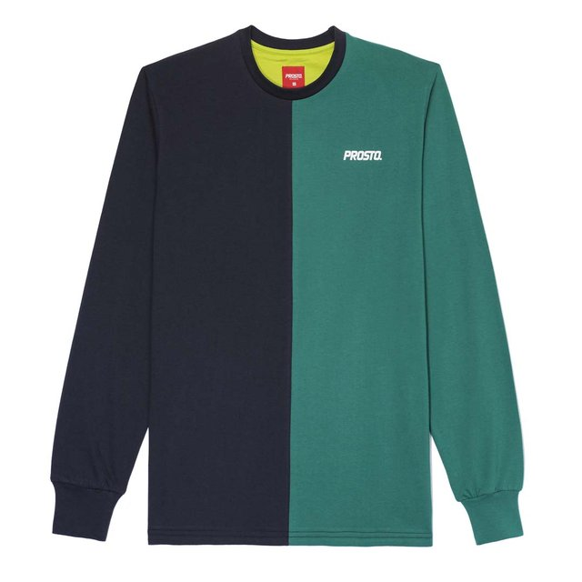 LONGSLEEVE HALVED NIGHT BLUE
