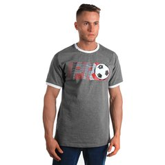 ST T-SHIRT PRO SOCCER MEDIUM HEATHER GREY