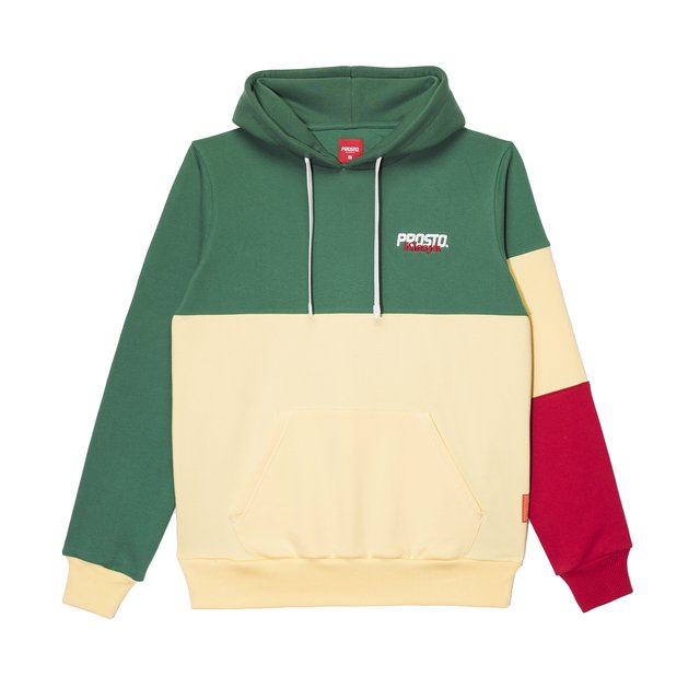 POSTCARD HOODY REGARD GREEN