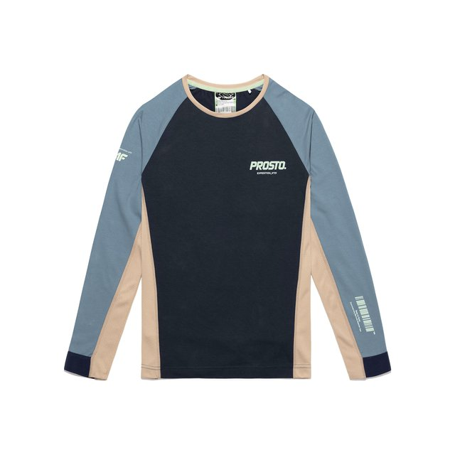 4F X PROSTO LONGSLEEVE COTTON NAVY