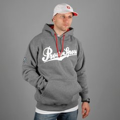ST HOODY TEAM MEDIUM HEATHER GRAY