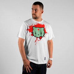 LA T-SHIRT CBM HELL WHITE