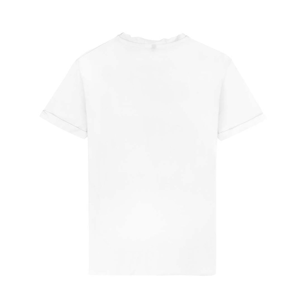 "JD. LORIEUX ""TRIFFIE"" TWO TSHIRT WHITE"