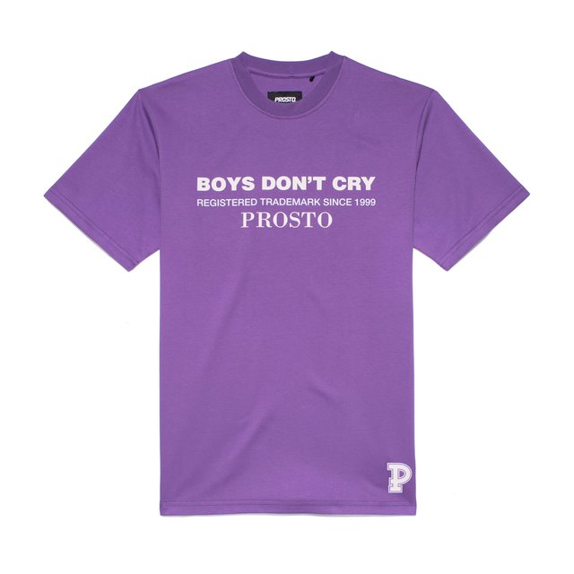 T-SHIRT DONT CRY VIOLET