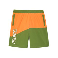 BOARDSHORTS PLAYA ORANGE/DARK GREEN