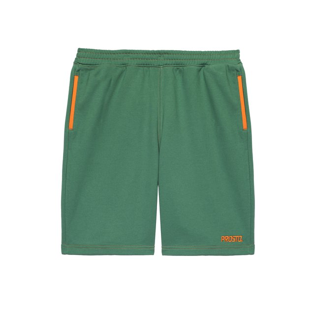 POSTCARD SHORTS UNCUT GREEN