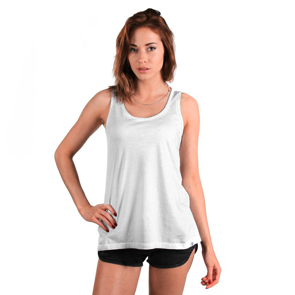 TANK WASHED LIGHT GREY