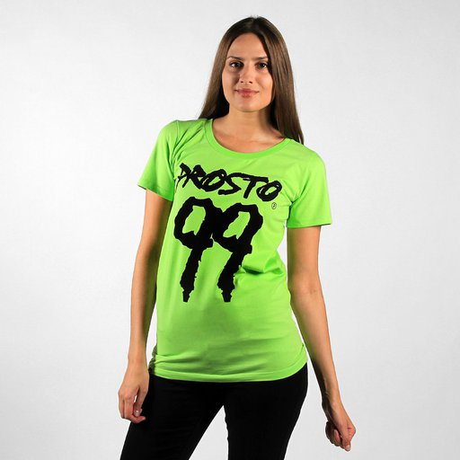 F.KL TEE 99 FLUO GREEN