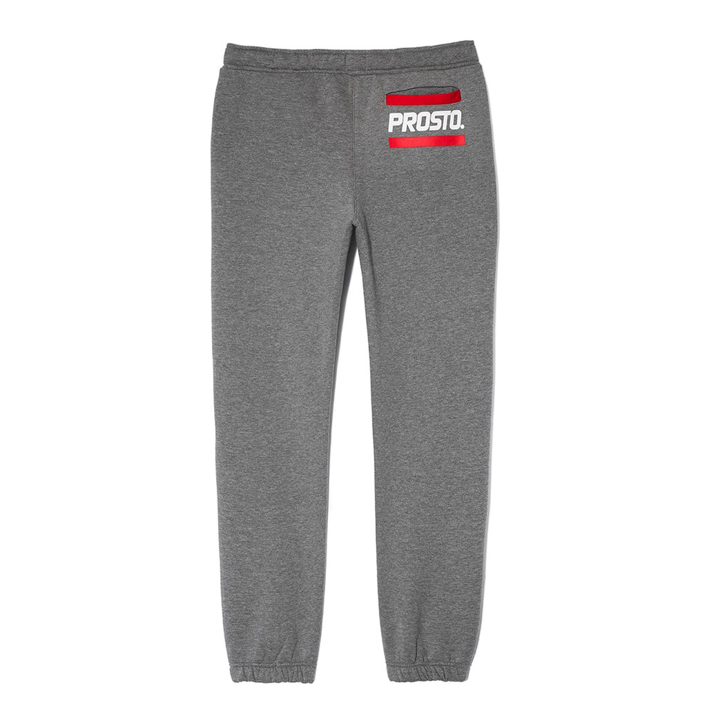 PANTS POCKET LOGO GREY