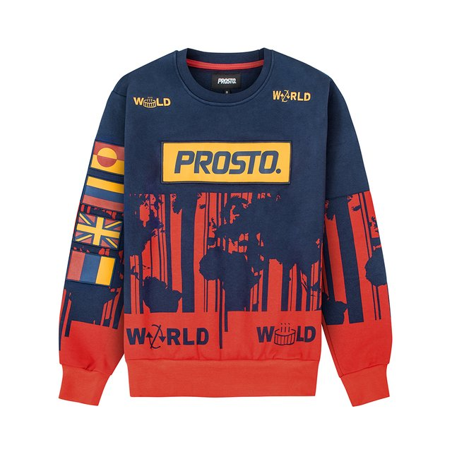 WORLD STRIPES NAVY