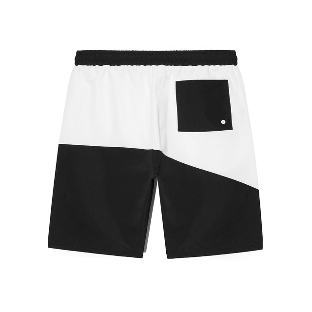 BOARDSHORTS PLAYA WHITE/BLACK
