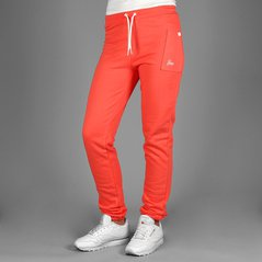 F.ST PANTS STRAIGHT CORAL