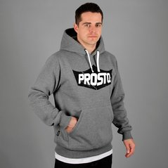 KL HOODY KING MEDIUM HEATHER GREY