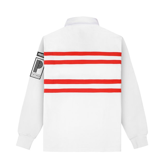 RUGBY STRIPES WHITE