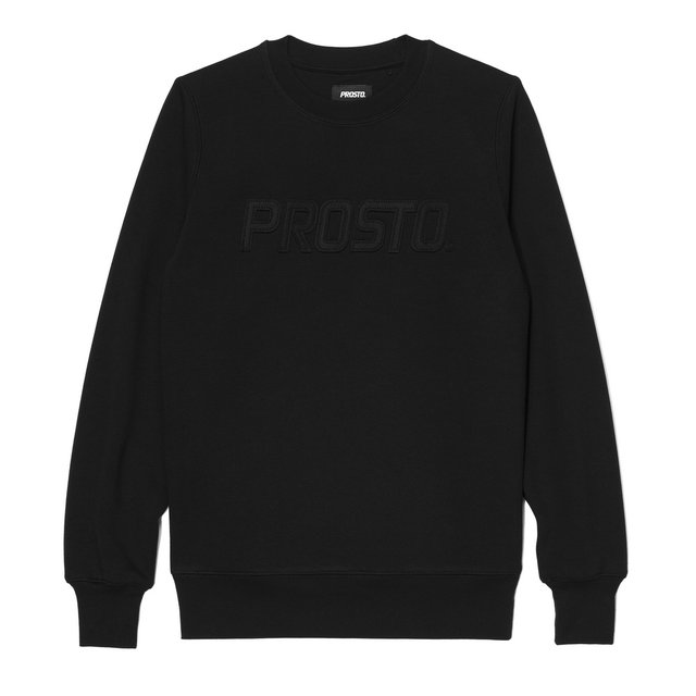 CREWNECK HEAVY BLACK