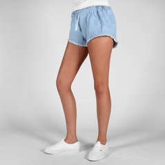 F.EL SHORTS CUTIT LIGHT BLUE