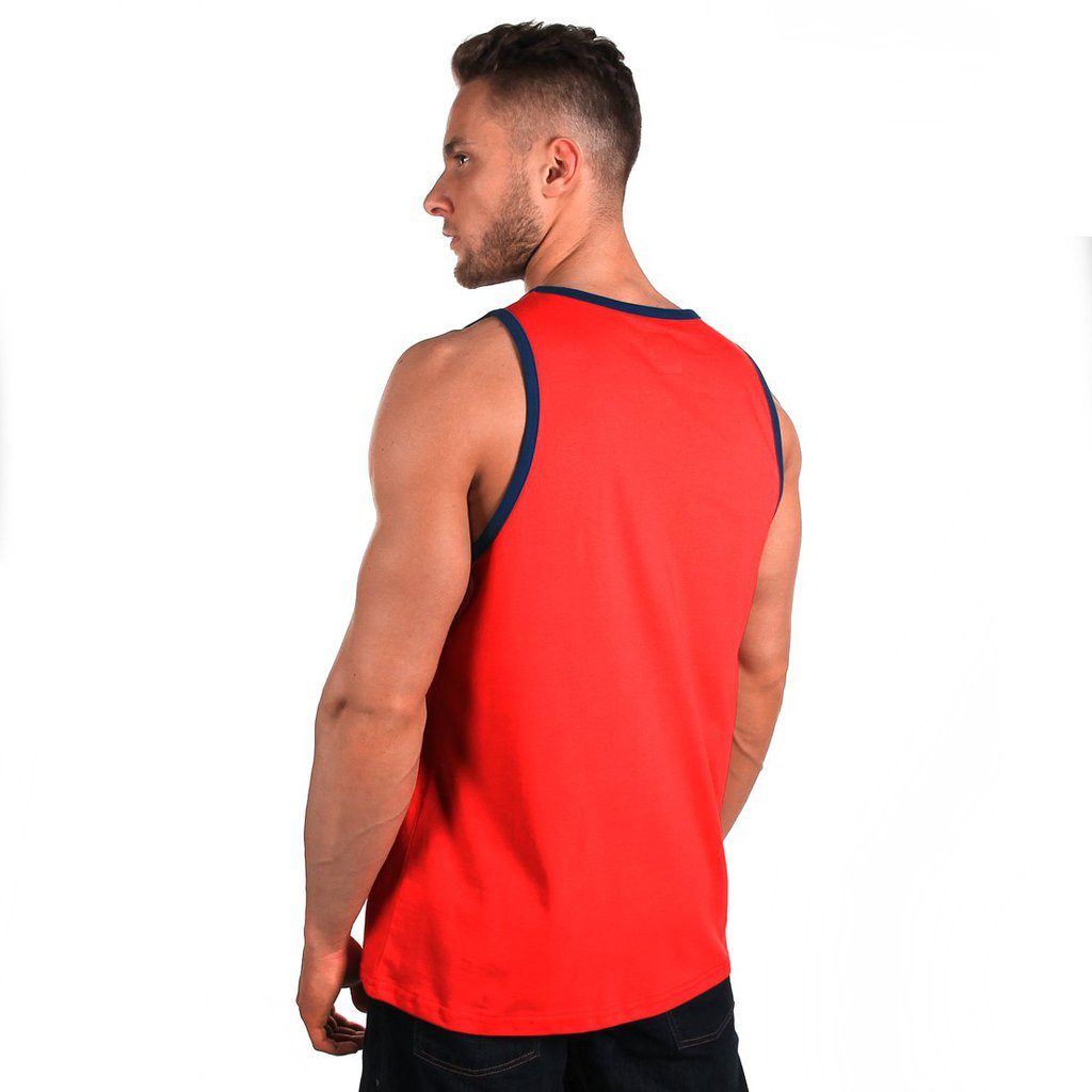 TANKTOP LOOSE RUBY RED