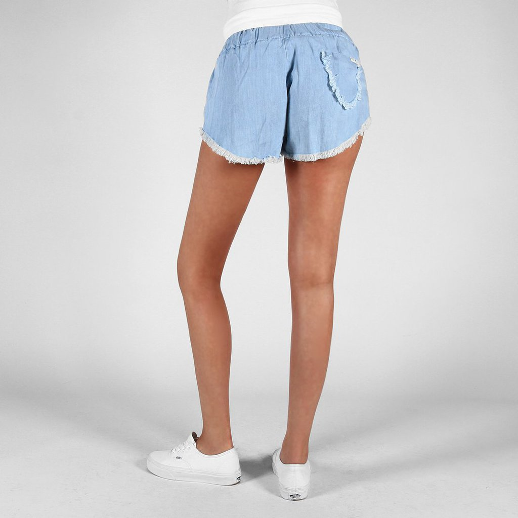 SHORTS CUTIT LIGHT BLUE