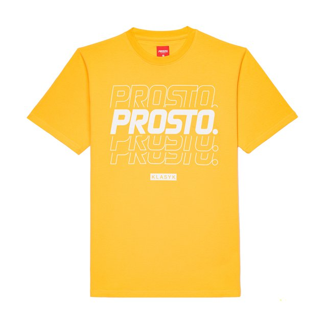 T-SHIRT DISCON DARK YELLOW